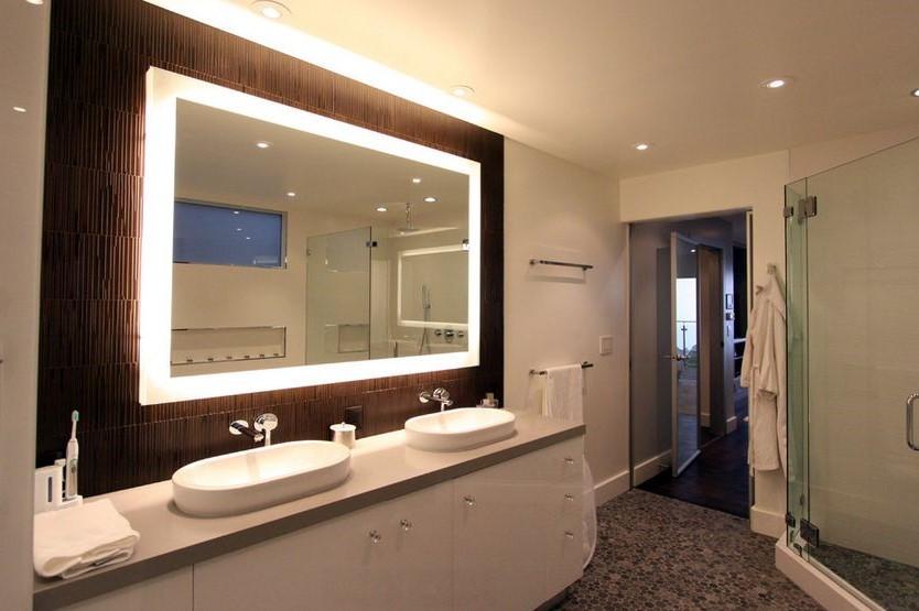 consigli per illuminare il bagno